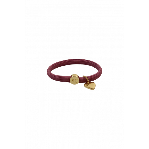 Poppy 2in1 elastik bånd rosa Black Colour (6719RX)