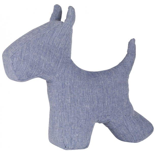 Dørstopper hund Hugo blå (6660-13)