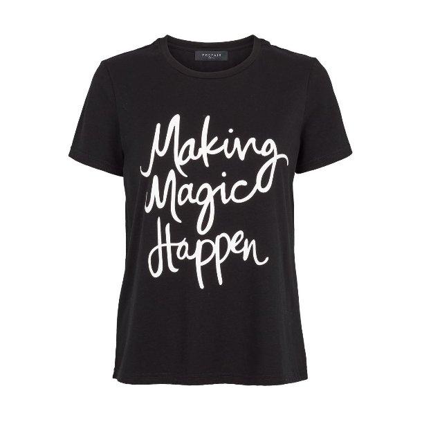 Angel T-shirt sort fra Prepair (811)