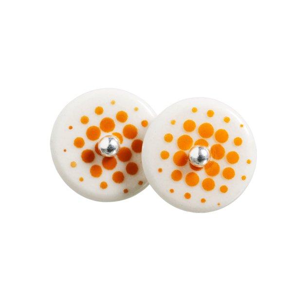 Scherning PIXL Ørestikker sølv/orange